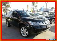 2006 Nissan Murano Z50 TI Black Automatic 6sp A Wagon for Sale