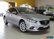 2012 Mazda 6 GH1052 MY12 Luxury Sports Silver Automatic 6sp A Sedan for Sale