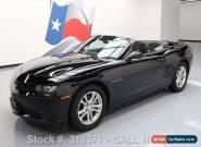2014 Chevrolet Camaro LT Convertible 2-Door for Sale