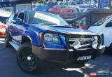 Classic 2008 Holden Colorado RC MY09 LX (4x4) Blue Manual 5sp M Crewcab for Sale