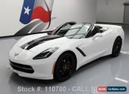 2014 Chevrolet Corvette Stingray Convertible 2-Door for Sale