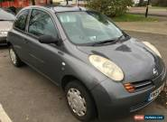 2004 NISSAN MICRA S DCI 65 PS GREY for Sale