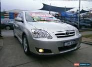 2005 Toyota Corolla ZZE122R Levin Seca Silver Manual 5sp M Hatchback for Sale