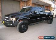 2006 Ford F250 RN XLT (4x4) Black Automatic 4sp A Super Cab Pick-up for Sale