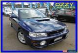 Classic 2000 Subaru Impreza MY00 WRX (AWD) Blue Manual 5sp M Sedan for Sale