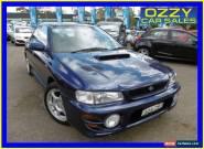 2000 Subaru Impreza MY00 WRX (AWD) Blue Manual 5sp M Sedan for Sale