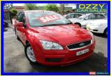 Classic 2005 Ford Focus LS CL Red Automatic 4sp A Sedan for Sale