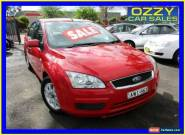 2005 Ford Focus LS CL Red Automatic 4sp A Sedan for Sale