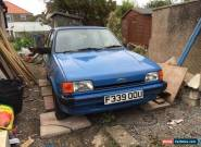 ford fiesta 1.1L 47k miles amazing find still mot for Sale