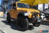 Classic 2012 Jeep Wrangler Unlimited JK MY13 Sport (4x4) Orange Automatic 5sp A Softtop for Sale