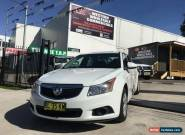 2011 Holden Cruze JH MY12 CD White Automatic 6sp A Sedan for Sale