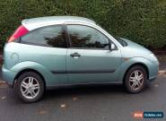 2000 FORD FOCUS 1.4L GREEN for Sale