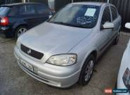 2002 Holden Astra TS City Silver Automatic 4sp A Hatchback for Sale