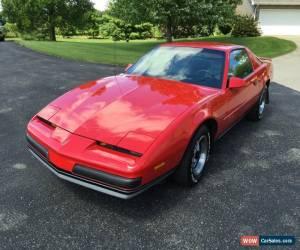 Classic 1987 Pontiac Firebird for Sale