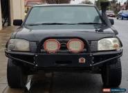 2003 NISSAN NAVARA D22 STR 3.0L TURBO DIESEL 4X4 UTE EASY REPAIR DAMAGED DRIVES for Sale