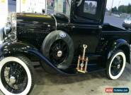1930 Ford Model A 2 door pickup for Sale