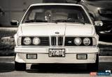 Classic 1985 BMW 6-Series for Sale
