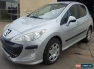 2010 Peugeot 308 Hatchback HDi TURBO DIESEL 6SPD Manual Light Damaged REPAIRABLE for Sale