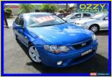 Classic 2006 Ford Falcon BF MkII XR6 Blue Automatic 4sp A Sedan for Sale
