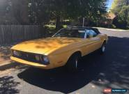 1973 Ford Mustang Convertible 2-Door for Sale