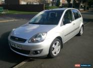 2006 FORD FIESTA ZETEC CLIMATE SILVER for Sale