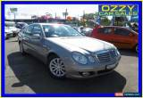 Classic 2008 Mercedes-Benz E200K 211 MY07 Upgrade Avantgarde Silver Automatic 5sp A for Sale