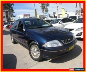 Classic 2001 Ford Falcon AU II Classic Futura Blue Automatic 4sp A Sedan for Sale