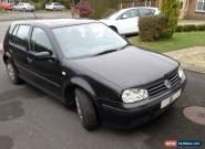 VW Golf S 1.6 petrol 2002 Black for Sale