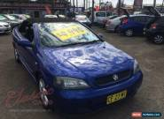 2001 Holden Astra TS Convertible Blue Automatic 4sp A Convertible for Sale