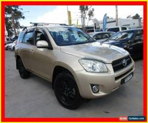Classic 2009 Toyota RAV4 ACA33R MY09 CV Gold Automatic 4sp A Wagon for Sale