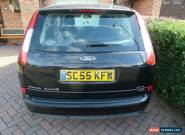2006 FORD FOCUS C-MAX GHIA 1.8 TDCI E4 BLACK for Sale