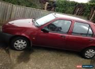 Red Ford Fiesta, 5 door Hatchback, 1299cc for Sale