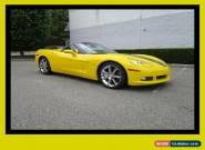 2009 Chevrolet Corvette w/2LT Convertible for Sale