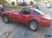 1980 Chevrolet Corvette 2 Door Coupe for Sale