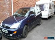 2001 FORD FOCUS ZETEC TD DI BLUE SPARES OR REPAIR for Sale