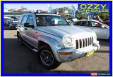 Classic 2003 Jeep Cherokee KJ Renegade (4x4) Silver Automatic 5sp A Wagon for Sale