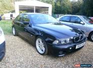2001 BMW 530I SPORT BLACK MANUAL for Sale