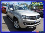 2012 Volkswagen Amarok 2H MY12.5 TDI420 Highline (4x4) Beige Automatic 8sp A for Sale