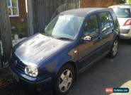 vw golf tdi mk4 spares or repairs for Sale