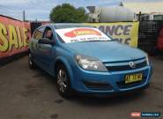 2005 Holden Astra Blue Manual 5sp M Hatchback for Sale