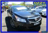 Classic 2012 Holden Cruze JH MY12 CD Black Automatic 6sp A Sedan for Sale