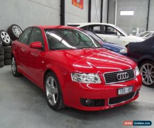 Classic 2005 Audi A4 B6 1.8T Red Automatic A Sedan for Sale