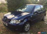 VW POLO Match 1.4 Midnight Blue 12 months MOT for Sale