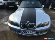 1999 BMW Z3 SILVER,1.9 , 2 door Convertible,Another Part Offered with No Reserve for Sale