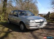 1996 Ford Fiesta Classic Mk 3 Silver for Sale