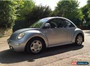 VW Beetle, 1.8 Turbo, silver, 2003 for Sale