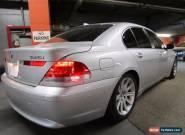 BMW: 7-Series 2002K in Kilometers for Sale