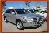 Classic 2009 Toyota Kluger GSU45R KX-R Silver Automatic 5sp A Wagon for Sale