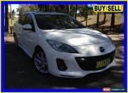 2012 Mazda 3 BL 11 Upgrade SP25 White Automatic 5sp A Sedan for Sale