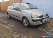 2003 53 Renault Clio 1.2 16v Extreme, Silver 3dr Hatch for Sale